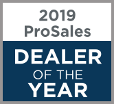 2019 PROSALES DEALER OF THE YEAR